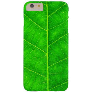 Walnut leaf barely there iPhone 6 plus case