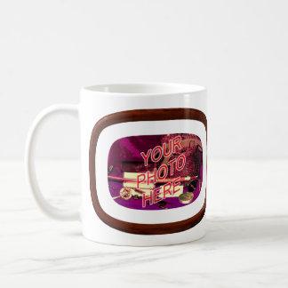 Walnut Matted Frame Mug