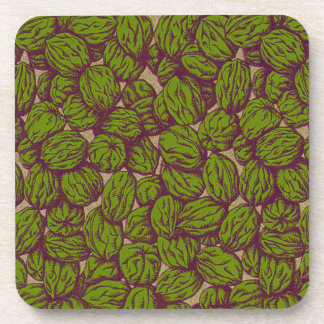 Walnut Pattern Drink Coaster