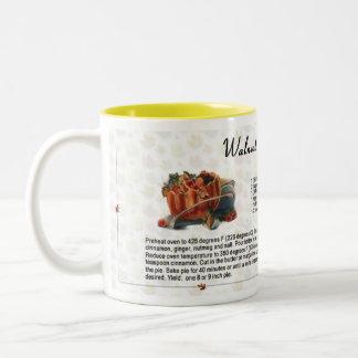 Walnut Pumpkin Pie Coffee Mugs