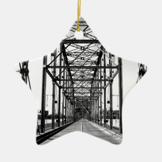 WALNUT STREET BRIDGE - CHATTANOOGA, TN CHRISTMAS ORNAMENT