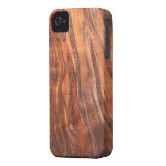 Walnut (Wood Grain) Blackberry Bold Case-mate Case
