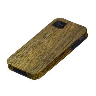 Walnut Wood Grain iPhone 4 Cases