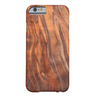 Walnut (Wood Grain) iPhone 6 Case Barely There iPhone 6 Case