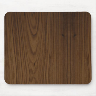 Walnut Wood Grain Mouse Pad