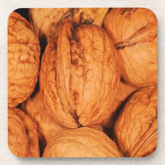 walnuts beverage coaster