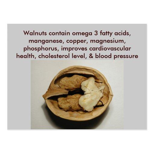 Walnuts postcard