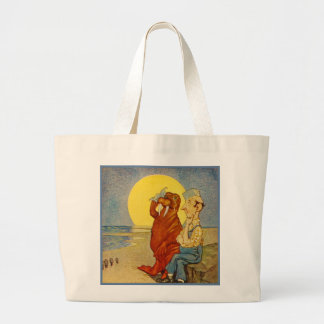 Walrus and the Carpenter Jumbo Tote Bag
