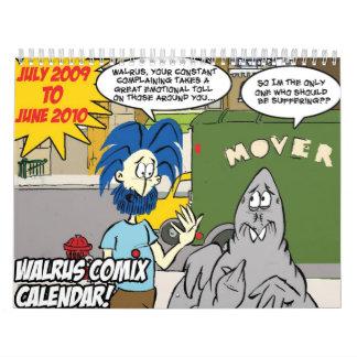 Walrus CALENDAR! Calendar