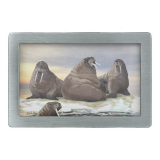 Walrus - Four Brothers Belt Buckles