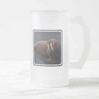 Walrus Frosted Beer Mug