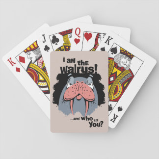 Walrus Funny Standard Playing Cards