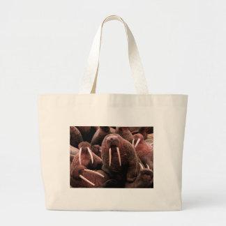 Walrus Jumbo Tote Bag