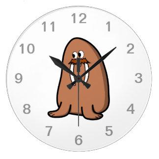 Walrus. Large Clock