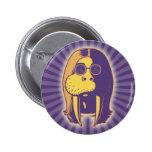 Walrus Man 6 Cm Round Badge