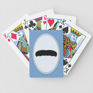 Walrus Mustache Bicycle Playing Cards