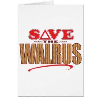Walrus Save Card