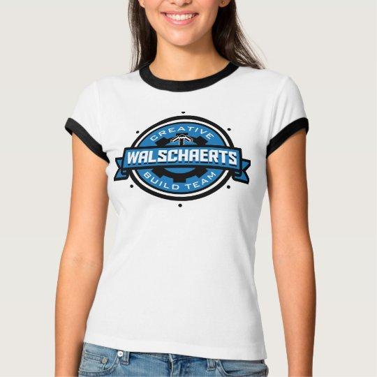 Walschaerts Build Team Ringer Womens' T-Shirt