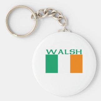 Walsh Basic Round Button Key Ring