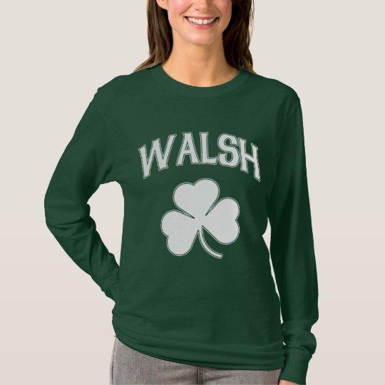Walsh Irish Shamrock T-Shirt