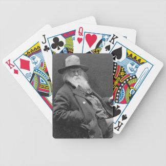 Walt Whitman 1887 Poker Deck