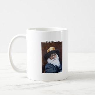 Walt Whitman, American Poet Basic White Mug