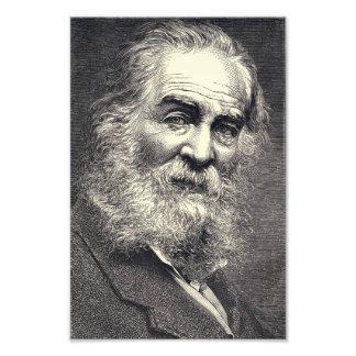 Walt Whitman Engraving, Age 52 Photographic Print