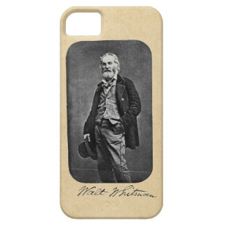 Walt Whitman Leaves of Grass Frontispiece iPhone 5 Cases