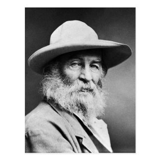 "Walt Whitman ""O CAPTAIN! my Captain!"" Postcard"
