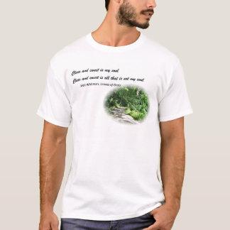 Walt Whitman Poetry T-Shirt