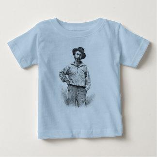 Walt Whitman Portrait Kids Shirt