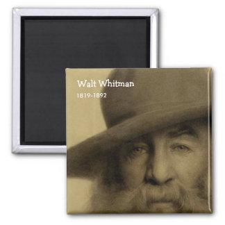 Walt Whitman Square Magnet