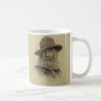 Walt Whitman The Good Grey Poet Basic White Mug