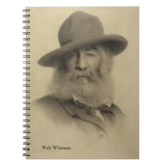 Walt Whitman - The Good Grey Poet Spiral Note Book