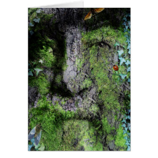 """Walt Whitman: The Green Man"" Card"