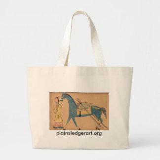Walter Bone Shirt :  Ancient Way of Travelling Jumbo Tote Bag
