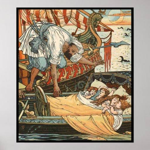 Walter Crane - Princess Belle-Etoile 2 Poster