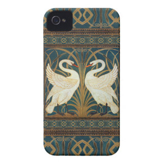 Walter Crane Swan, Rush And Iris Art Nouveau iPhone 4 Case-Mate Case