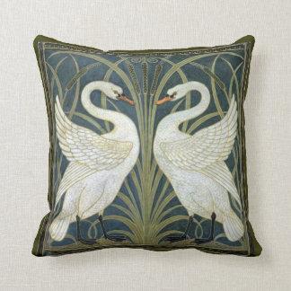 Walter Crane Swans Victorian Pillow