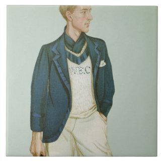 Walter Erskine-Crum, illustration from 'Men of the Large Square Tile