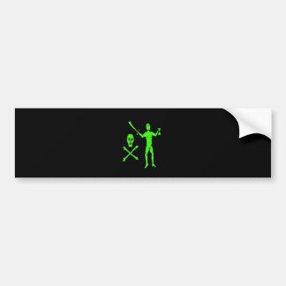 Walter Kennedy-Green Bumper Sticker