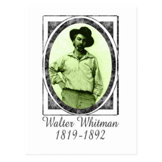 Walter Whitman Postcard