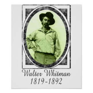 Walter Whitman Poster