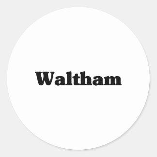 Waltham  Classic t shirts Stickers