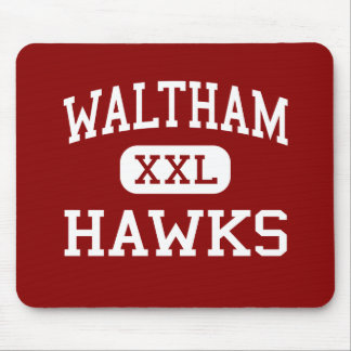 Waltham - Hawks - High - Waltham Massachusetts Mouse Mats