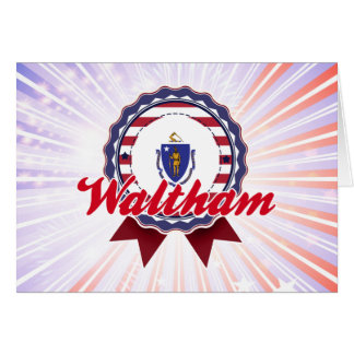 Waltham MA Card