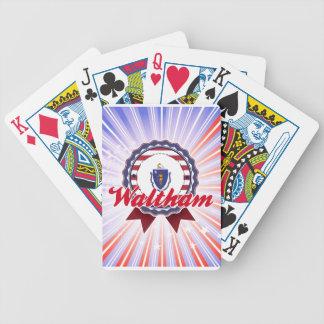 Waltham, MA Card Decks