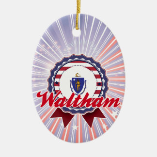 Waltham, MA Ornament