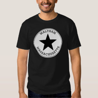 Waltham Massachusetts T Shirt