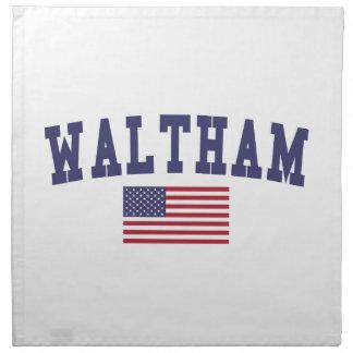Waltham US Flag Cloth Napkin